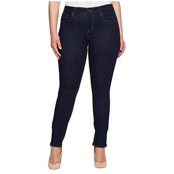 3355bd574b Levi s 711 Skinny Jeans Plus Size 22W M